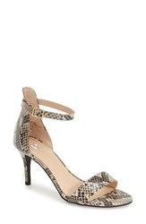 Women's Bp. 'Luminate' Open Toe Dress Sandal Faux Snake Print
