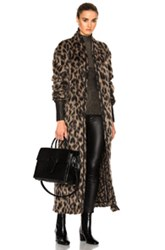 Off White Anamalier Jacket In Neutrals Animal Print Neutrals Animal Print