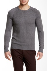 J. Lindeberg Almer Crew Neck Sweater Gray