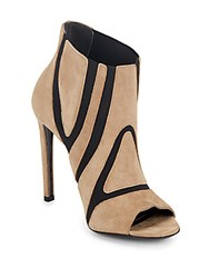 Balenciaga Leather Cone Heel Pumps Beige Noir