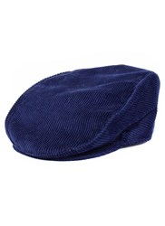 Dents Cotton Flat Cap Ink