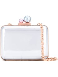 Sophia Webster 'Baw' Clutch Metallic