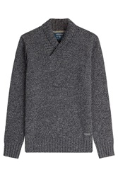 Woolrich Wool Cashmere Pullover Grey