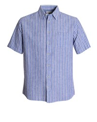 Bar Harbour By Double Two Casual Shirt Blue