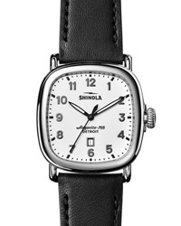 Shinola 41Mm Guardian Men's Watch Black White