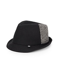 Block Headwear Tweed Wool Hat Black