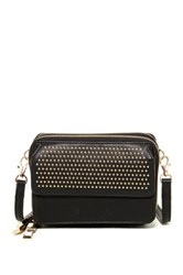 Shiraleah Arden Vegan Leather Crossbody Black