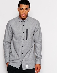 Boxfresh Corriss Wool Shirt Grey