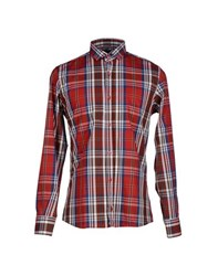 Minimal Shirts Shirts Men Red