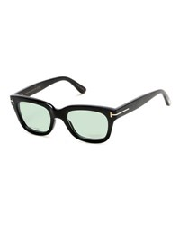 Tom Ford Tom N.5 Private Collection Real Horn Thick Square Optical Frames Black
