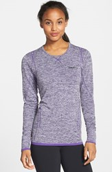 Women's Craft 'Active Comfort' Base Layer Tee Purple