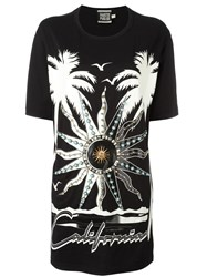 Fausto Puglisi Embellished Oversized T Shirt Black