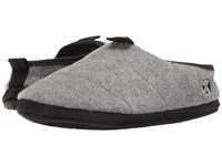 Bedroom Athletics Travolta Grey Fleck Men's Slippers Gray