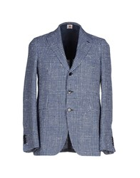 Luigi Borrelli Napoli Suits And Jackets Blazers Men Blue