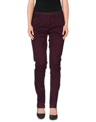 Department 5 Trousers Casual Trousers Women Deep Purple
