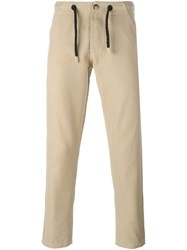 Bleu De Paname 'Bdp Jump Paint' Trousers Nude And Neutrals