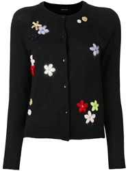 Simone Rocha 'Flower' Cardigan Black