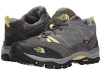 The North Face Storm Ii Wp Moon Mist Grey Chiffon Yellow Women's Shoes Black
