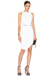 Alexandre Vauthier Asymmetrical Mini Dress In White