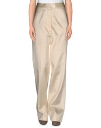 Celine Celine Trousers Casual Trousers Women Beige