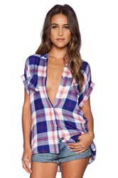 Rails Britt Button Down Blue