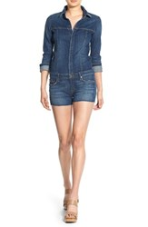 Women's Hudson Jeans 'Lane' Denim Cutoff Romper