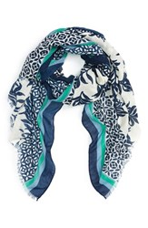Cara Women's Mixed Print Scarf
