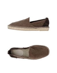 Brooksfield Espadrilles Dark Brown
