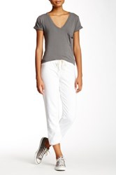 Candc California Kelly Slouch Sweatpant White