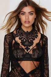 Nasty Gal Fallen From Lace Body Chain