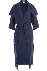 By Malene Birger Wittie Wool Blend Coat Blue