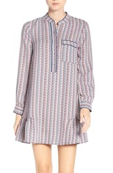 Bcbgmaxazria Women's 'Lucile' Print Shirtdress