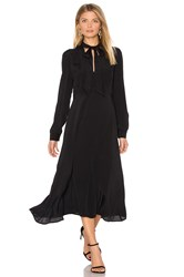 Astr Edith Dress Black