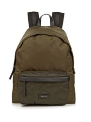 Moncler Romeo Quilted Pocket Nylon Backpack Green