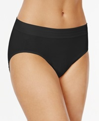 Jockey Cotton Seamless High Cut Brief 2083 Black