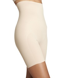 Chantelle High Waist Long Leg Shapers Ultra Nude Large