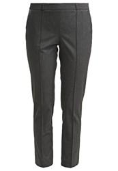 Naf Naf Trousers Anthracite Chine Grey
