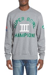 Mitchell And Ness Men's Nfl Championship New York Jets Sweatshirt