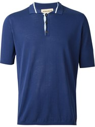 Al Duca D'aosta 1902 Knit Polo Shirt Blue