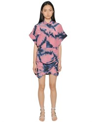 Iro Printed Silk Crepe De Chine Dress