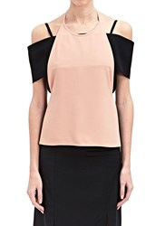 J.W.Anderson J.W. Anderson Crepe Apron Band Top Pink