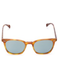 Oliver Peoples 'L.A. Coen' Sunglasses Nude And Neutrals