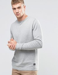 Jack And Jones Basic Crew Neck Sweater Grey