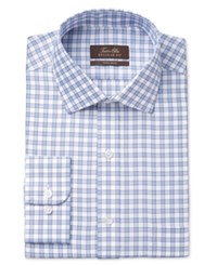 Tasso Elba Men's Classic Fit Non Iron Gingham Dress Shirt Only At Macy's Blue