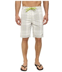 Prana El Porto Short Stone Men's Swimwear White