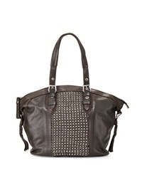 Oryany Betsy Chainmail Tote Bag Forest