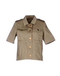 M.Grifoni Denim Jackets Khaki