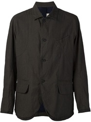 Buttoned Jacket Grey
