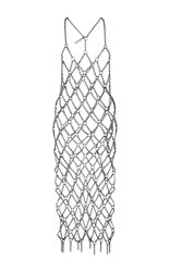 Fannie Schiavoni Chain Dress Silver