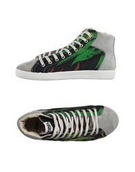 Springa Footwear High Tops And Trainers Men Green